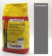 Fugenmörtel Dunkel grau, Keramik und Naturstein, Fliesen, Schmalfuge | 2,38€/kg