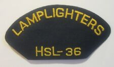2 Lamplighters HSL-36 Patches US Navy Aircraft Squadron Patch