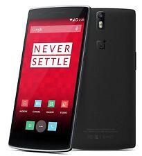 OnePlus One 64GB 3gb ram Sandstone Black 6 month manufacturer warranty lowest
