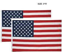 2 New American Flag Us Flag Polyester Stars Brass Grommets 3X5' American Flag