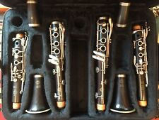 Pair of Selmer Paris series 10 Professional Bb and A CLARINETS