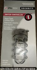 Utilitech Security Vapor Tight Ceiling Light 0045028 Industrial-Silver Finish