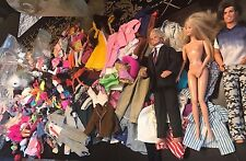 Huge Vintage Barbie & Ken Doll Lot Clothes Accessories 90's Bags Shoes Over 250