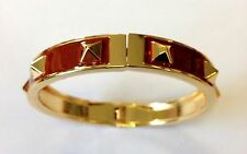 Mikey London Brown & Gold Stud Bracelet, Bangle Ladies, Brand New Fashion