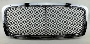 Bentley GT Grill GTC Continental GTV8 2012-2018 Chrome and Black 3pc GTV8 Grills