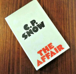 C. P. Snow - 'The Affair' - signed by author - dust jacket