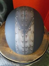 Custom Painted Patina Rivets Airbrush Motorcycle Helmet Harley Davidson