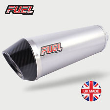 BMW F700GS 2013+ Diablo Brushed Stainless Oval Midi UK Street Legal Fuel Exhaust