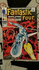 Fantastic Four #72 VG/4.0 1968 Marvel Comics, Silver Surfer by Lee/Kirby