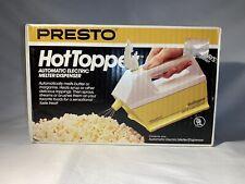 Presto Hot Topper Vintage Electric Butter Topping Melter Dispenser - Tested