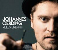 JOHANNES OERDING - ALLES BRENNT  CD SINGLE NEU