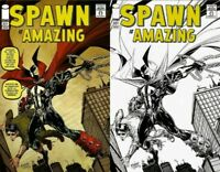 Spawn #221 Color & Sketch Variant Mexican Edition - Todd McFarlane!