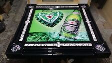 Heineken New Yoriquen Domino Table by Domino Tables by Art & we add your name