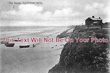 NF 38 - The Beach, Happisburgh, Norfolk - 6x4 Photo