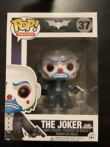 Funko Pop! Heroes The Joker(Bank Robber) #37; Great Condition w/ Pop Protector