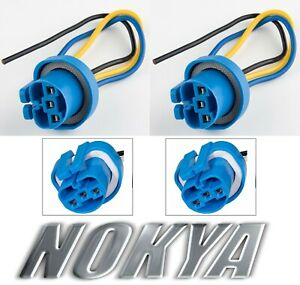 Nokya Wire Harness Pigtail Female 9007 HB5 Nok9103 Light Bulb Plug OE Connector
