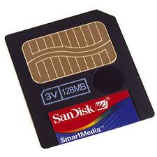 SanDisk 128MB Smart Media SmartMedia 3.3V Card for Roland, Korg or Yamaha
