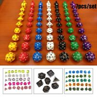 Multi-shape Board Playing Game Dice Set Entertainment Tool Gaming Drinking Dice