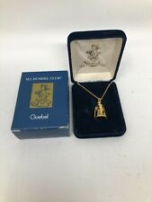 Hummel Goebel Honey Lover Miniature Pendant Necklace w/ Box