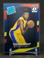 2017-18 Optic Thomas Bryant RC, Rookie Red & Yellow, Lakers / Wizards