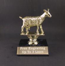 Goat Award Trophy . Free engraving.