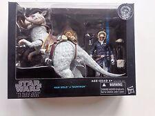 """Star Wars Black Series Han Solo und Tauntaun 6"""" Action Figur Set ESB Deluxe NEU"""