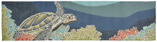 2x8 Runner Tropical Coastal Ocean Turtle Indoor Outdoor Area Rug