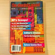 The Absolute Sound Volume 20 Issue 106, 1996 TAS Editor's Choice VPI JMW Arm