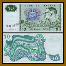 Sweden 10 Kronor, 1983 P-52d Unc