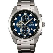 ORIENT Watch NEO70's Chronograph Quartz Blue Men's