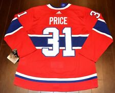 Carey Price Montreal Canadiens Adidas Home NHL Hockey Jersey Size 54