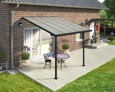 Pergola /  Verandah / Carport DIY KIT 3X3.05 Grey/Clear