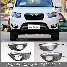 2X New LED Daytime Running Lights DRL Fog Lamp for Hyundai Santa Fe 2010-2012