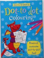 Dotty Dragon's dot to dot Colouring book