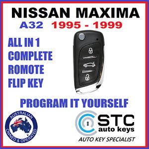NISSAN MAXIMA A32 A 32 CAR REMOTE CHIP FLIP KEY FOB 1995 1996 1997 1998 1999
