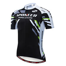 Bicycle Jerseys Mens Lightweight Bike Clothing Tops Anti-slip Biking Shirt US L