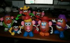 LOT OF 7 POTATO HEADS WITH PARTS EVEN A BUZZ LIGHTYEAR FROM THE MOVIE TOY STORY