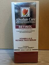 Absolute Care. Retinol Vitamin Enriched Face Serum, 50 ml. Made in Israel