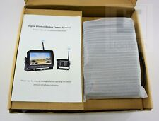 Lastbus Digital Wireless Backup Camera and Monitor Kit for RV Trailer Truck NEW