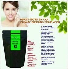 100% ORGANIC BODY BLEACHING SCRUB 400G (REFIL)