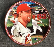 Mark McGwire Home Run Hero Record Breaker 9-8-98 Collector Plate Bradford 1998