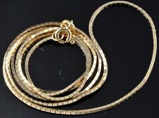 """14K 4.3g Grams Gold Gold Italy Vintage Chain 20"""" Necklace 0.80mm width"""