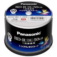 Panasonic Blank Blu-ray BD-R 4x Recordable LM-BRS50L50S 50GB New