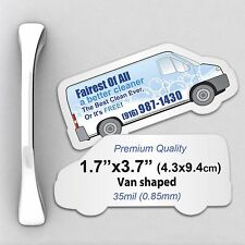 1000 Custom 35mil Thick Van Shaped Fridge Magnets with Your Design/Logo
