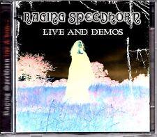 RAGING SPEEDHORN - LIVE AND DEMOS - 2 x CD ALBUM SET - MINT