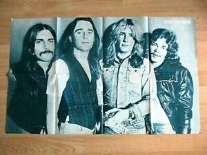 "STATUS QUO & PUSSYCAT - RIESENPOSTER AUS ""POPFOTO"" 10/1976 (NL) TOP ZUSTAND!!!"