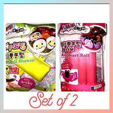 STAY HOME👏DAISO *Sushi Rice Roll Shaker + Heart ❤️Roll* Bento Norimaki Onigiri