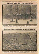Soldiers Feldgrauen Deutsches Heer Tranchées Poilus Bataille de Verdun WWI 1915