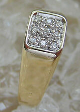 Wow✪ Diamant Ring in aus 585 Gold Ring mit Brillanten Brillant Ring with Diamond
