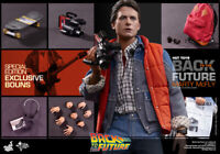 (US) Hot Toys 1/6 Back to the Future MMS257B Marty Mcfly Limited Edition Figure